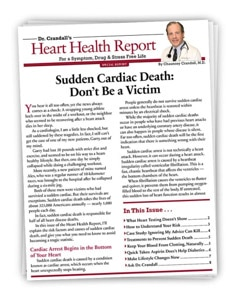 Sudden Cardiac Death: Don't Be a Victim